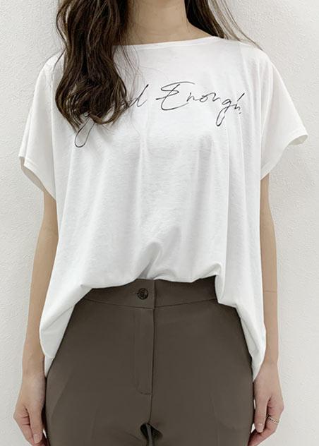3.Tシャツのこなれた前だけイン