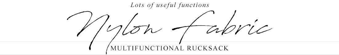 Rucksack series