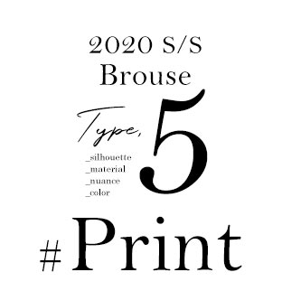 Spring Brouse Type,5 _silhouette _material _nuance _color #Print