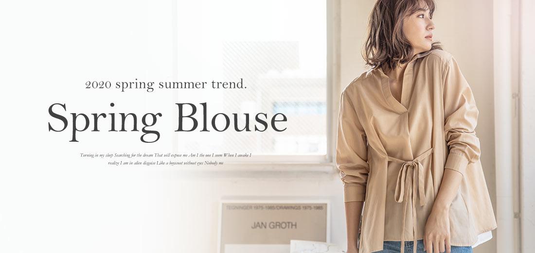 2020 S/S New! Spring Blouse By kobe lettuce. 春の指名買いブラウス