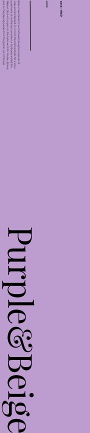 Purple&Beige