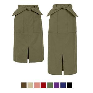 裏微起毛選べる2丈ストレッチタイトスカート [M2322]