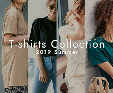 T-shirt Collection 2019 Summer