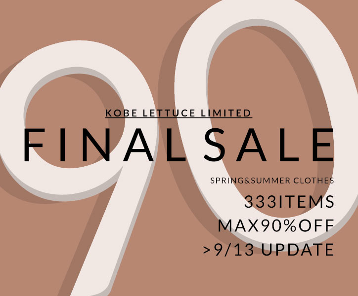 MAX58%OFF SUMMER SALE