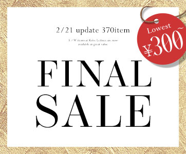 1/31 update 270item FINAL SALE 84%OFF