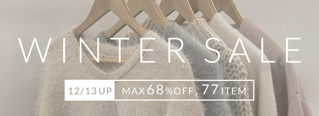 WINTER SALE 12/13UP! MAX68%OFF,100ITEM