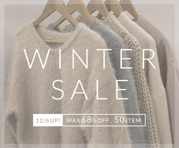 WINTER SALE 12/6UP! MAX68%OFF,50ITEM