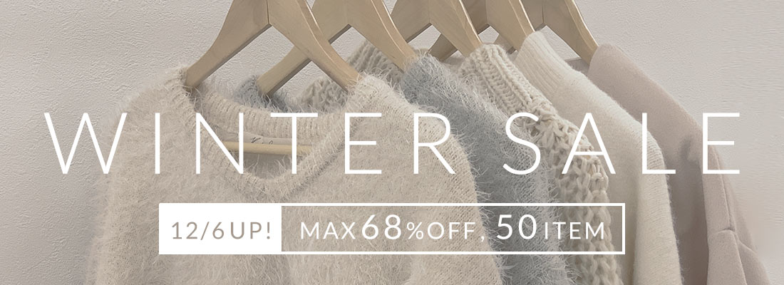 WINTER SALE 12/6UP! MAX80%OFF,100ITEM