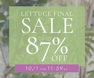 LETTUCE FINAL SALE UP TO 87%OFF 8/21UPDATE!