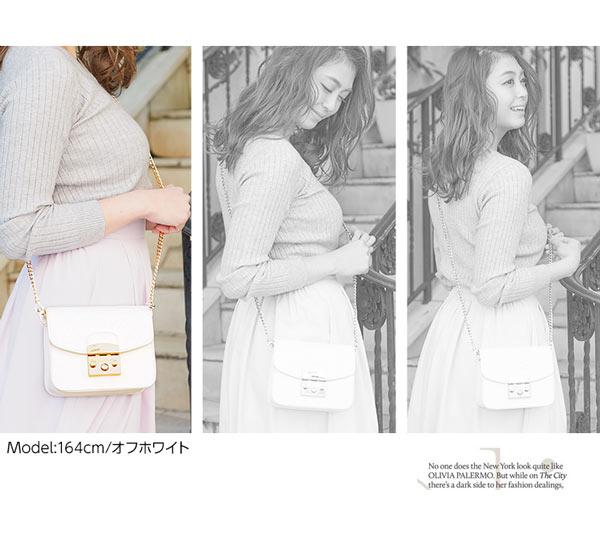 2way☆チェーンミニショルダーバッグ [B1030]