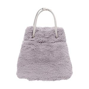 ファー巾着バッグ [B1219]