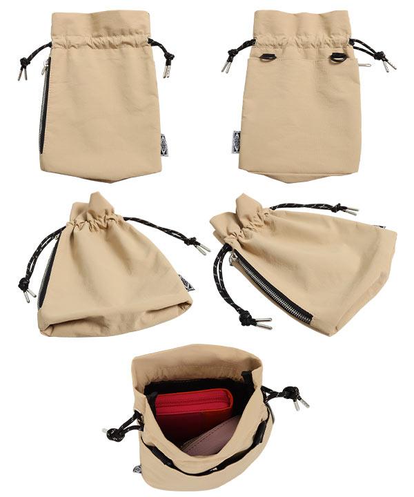≪セール≫撥水2WAY巾着バッグ [B1368]