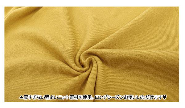 リボン刺繍パフスリニット [C2843]