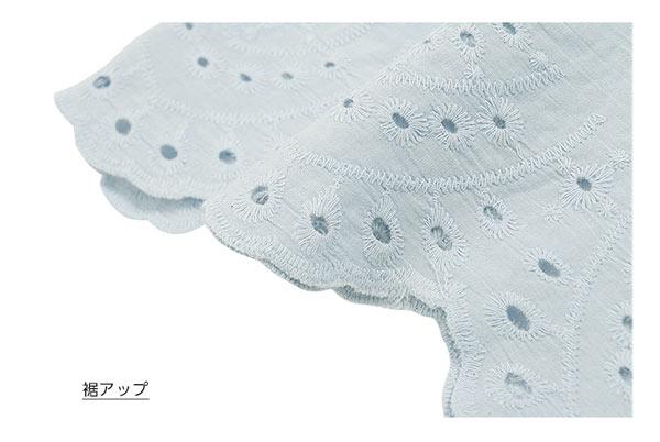 刺繍レースブラウス [C3126]