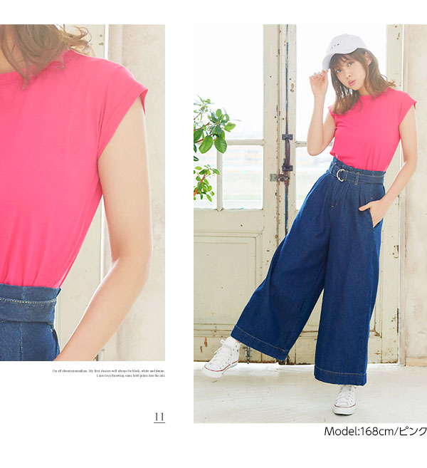フレンチスリーブTシャツ [C3156]