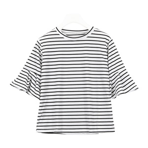【990円Tシャツシリーズ】フレアスリーブTシャツ [C3158]