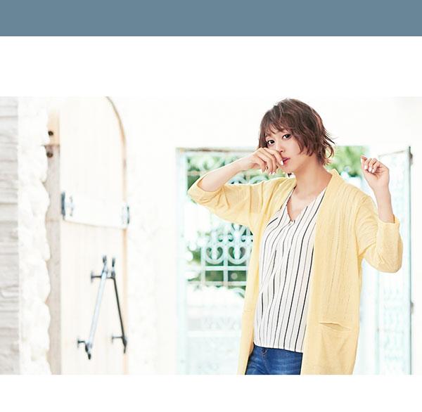 選べる4type[フレンチ袖/フリル袖/バルーン袖/イレヘム]とろみ落ち感ブラウス [C3307]