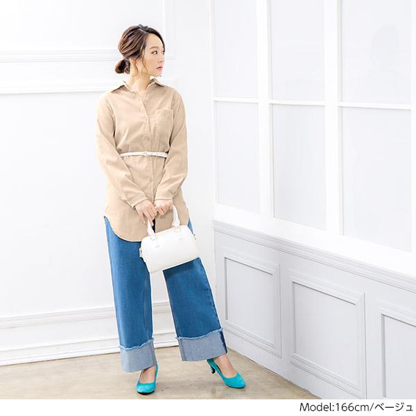≪ファイナルセール!≫コーデュロイシャツ [C3650]