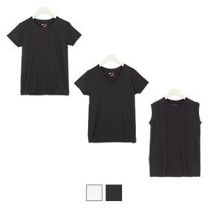 【Hanes】2PAC Tシャツ(ホワイト・ブラック各1枚ずつの2枚SET)