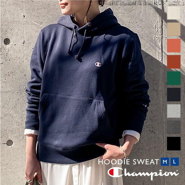 【Champion】プルオーバーフード付スウェット [C3729]
