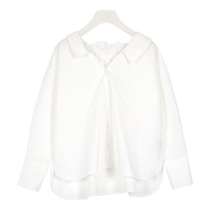 2way抜き衿シャツ