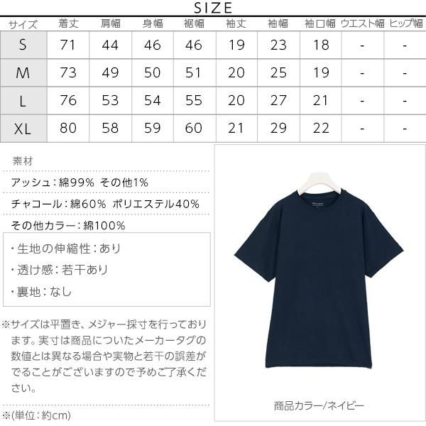 [ Champion ]ショートスリーブTシャツ [C3848]のサイズ表