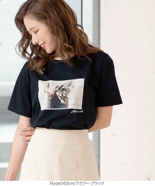 選べるフォトプリントTシャツ [C3877]