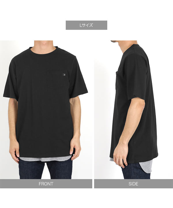 [近藤千尋さんコラボ][メンズ]ポケット付きサイドスリットゆるTシャツ [C3955]