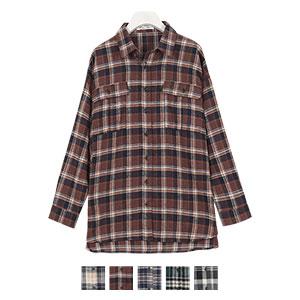 ≪SALE!!≫オーバーサイズチェックシャツ [C4034]