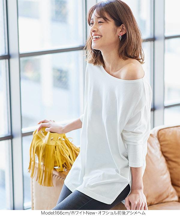 【MadeInJAPAN】選べるネックコットンTシャツ [C4455]