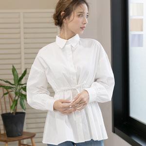 バルーン袖シャツ [C4456]