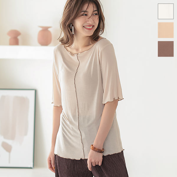 神戸レタス シアーメロウTシャツ [C4752]