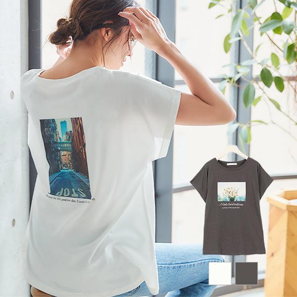 神戸レタス 選べる2タイプ フォトTシャツ [C4769]