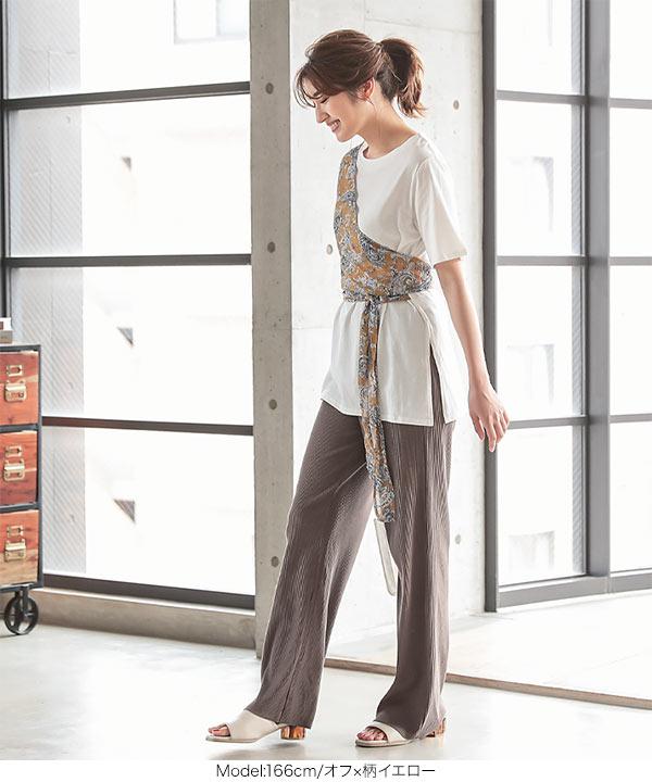 レイヤード風Tシャツ [C4855]
