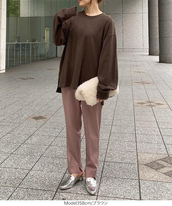 ユニセックスUSAコットンロングTシャツ [C4918]