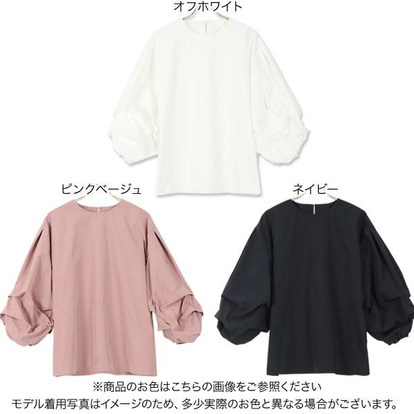 ボリューム袖ブラウス [C5178]