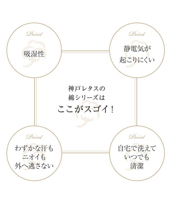 ≪セール≫[ 綿シリーズ ] マジックコットンレギンス [M3047]