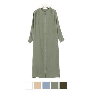 バックボタンルーズシャツ [E2157]
