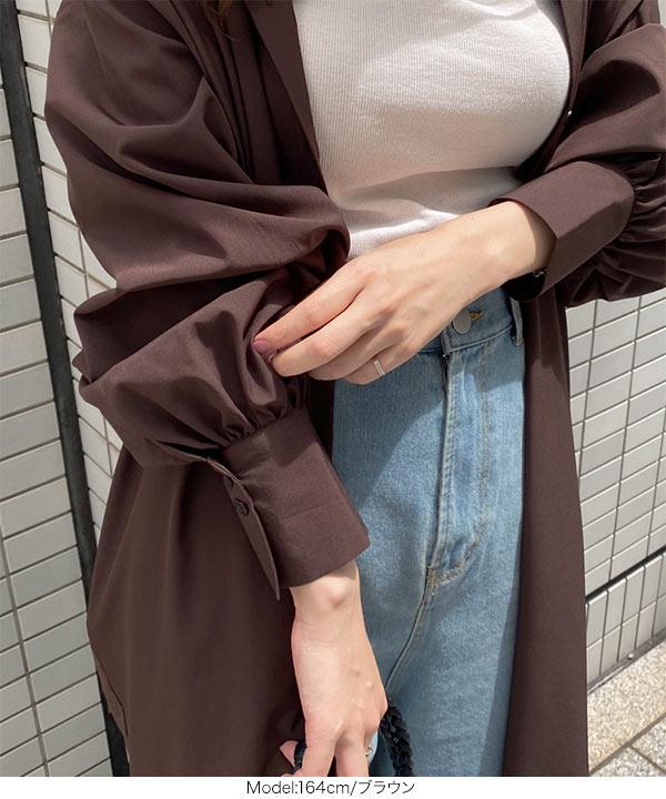 シャツワンピ [E2534]