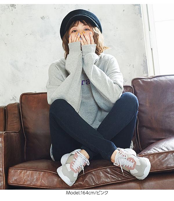 配色ダットスニーカー [I1637]