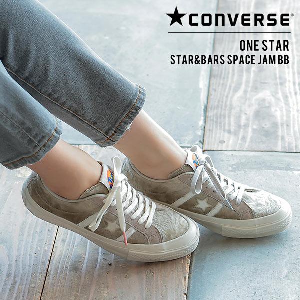 [ CONVERSE ] STAR&BARS SPACE JAMBB スニーカー [I2295]