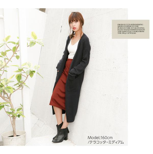 選べる3丈ポンチタイトスカート [M1683]