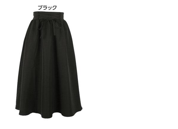コルセットデザインフレアスカート [M1921]