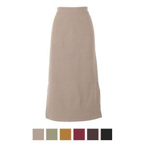 ≪SALE!!≫裏微起毛動けるストレッチシンプルタイトスカート [M2681]