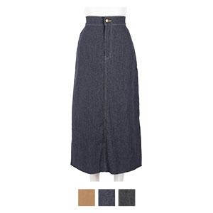 バックスリットデニムタイトスカート [M2685]