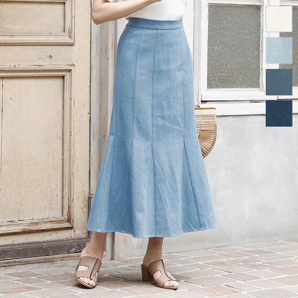 神戸レタス デニムマーメイドスカート [M2891]
