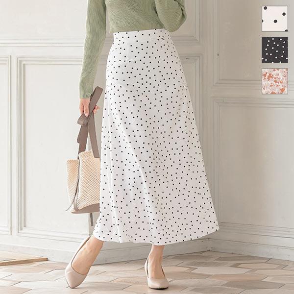 神戸レタス バリエーションプリントスカート [M3231]