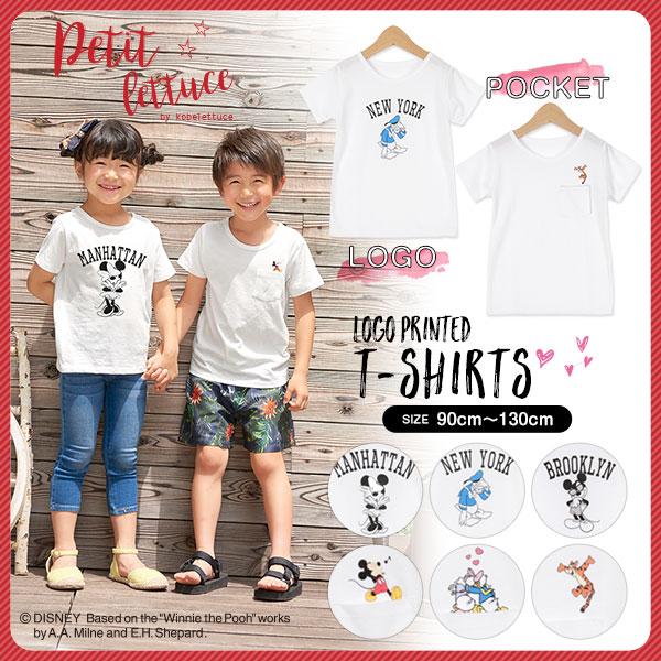 ≪サマーセール!!≫[Disney]選べる6type☆ロゴTシャツ[X2724]
