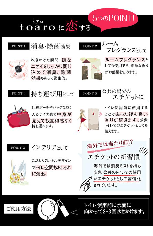 ≪今だけ★送料無料≫トイレ専用フレグランスミスト [Y164]