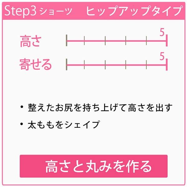 【ブラデリス】おしりが桃ガードル(STEP3) [Y202]